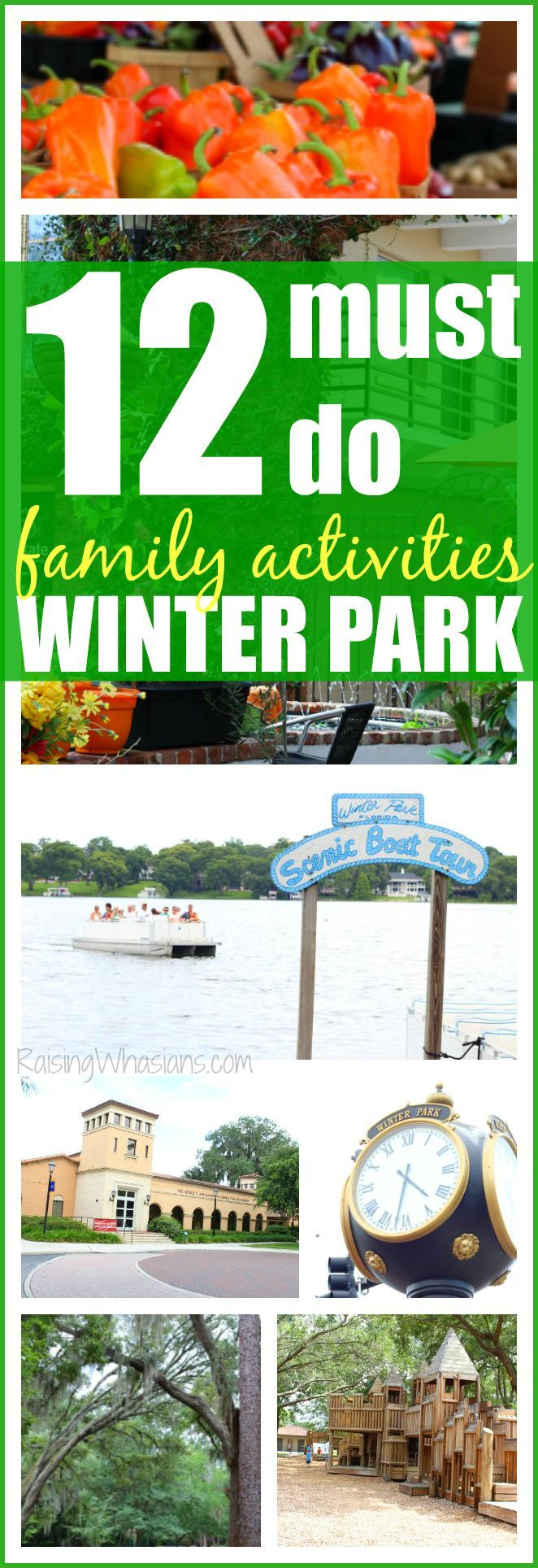 12 Winter Park Family Activities for Your Next Visit | travel to Winter Park, Florida just next door to Orlando with these family-friendly activities #LoveFL #ad @VISITFLORIDA