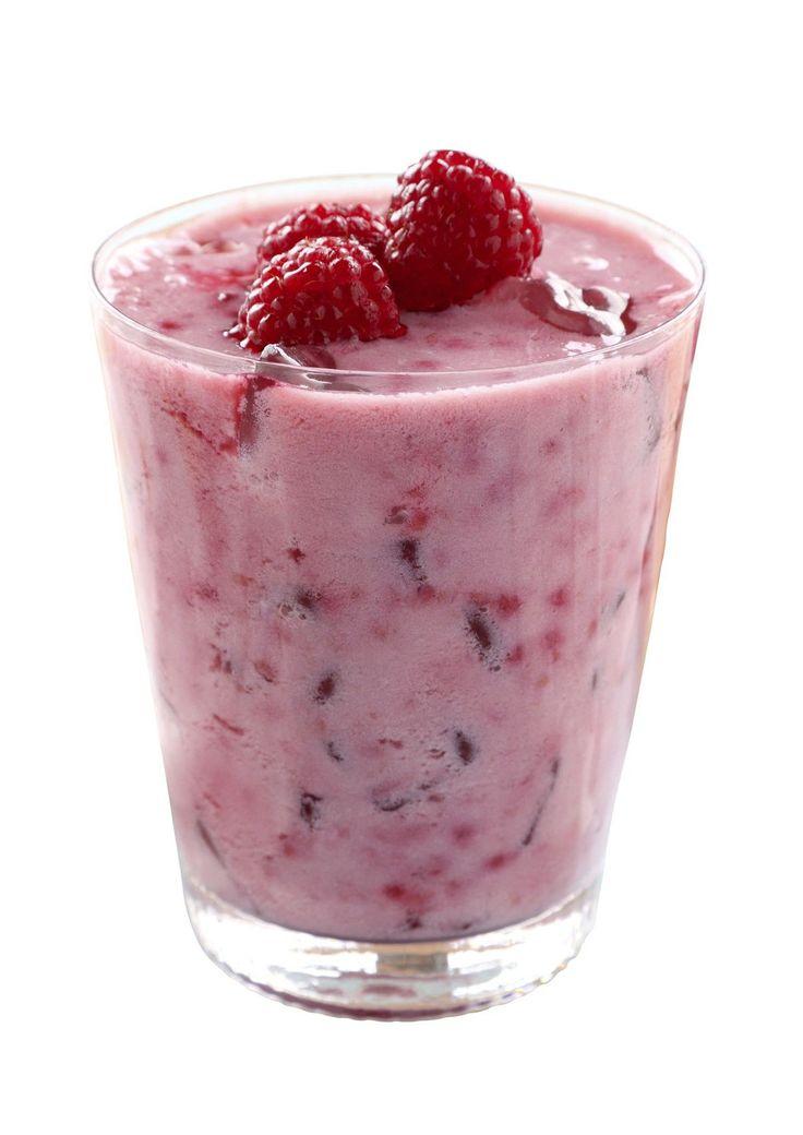 Hindbær-smoothie