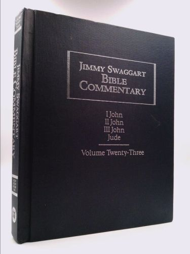 JIMMY SWAGGART BIBLE COMMENTARY JOHN 1 2 3 AND JUDE | New and Used Books from Thrift Books