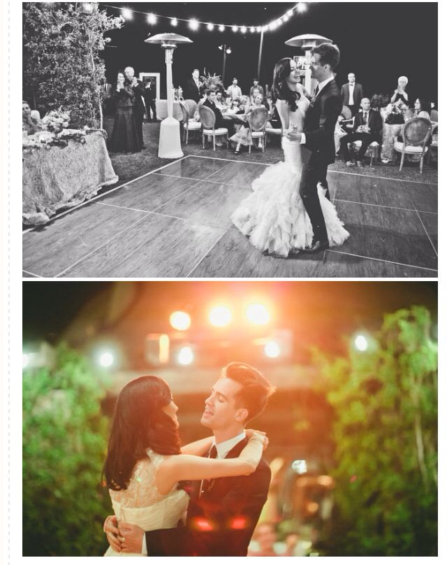 Brendon Urie's wedding UGH speechless