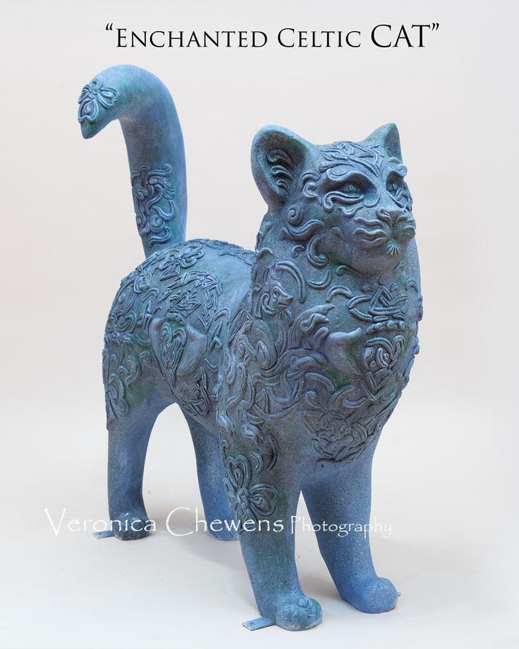 HOCA CATS- # 43 ENCHANTED CELTIC CAT Исполнитель: Нэнси Уилан  При поддержке: Грин Каунти Торгово-промышленная палата