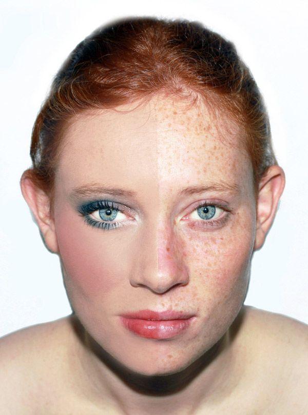 Erotic natural redhead