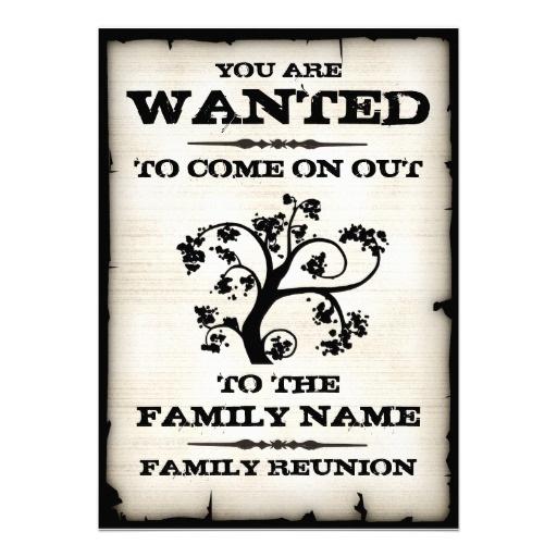 La Réunion de famille a voulu des invitations