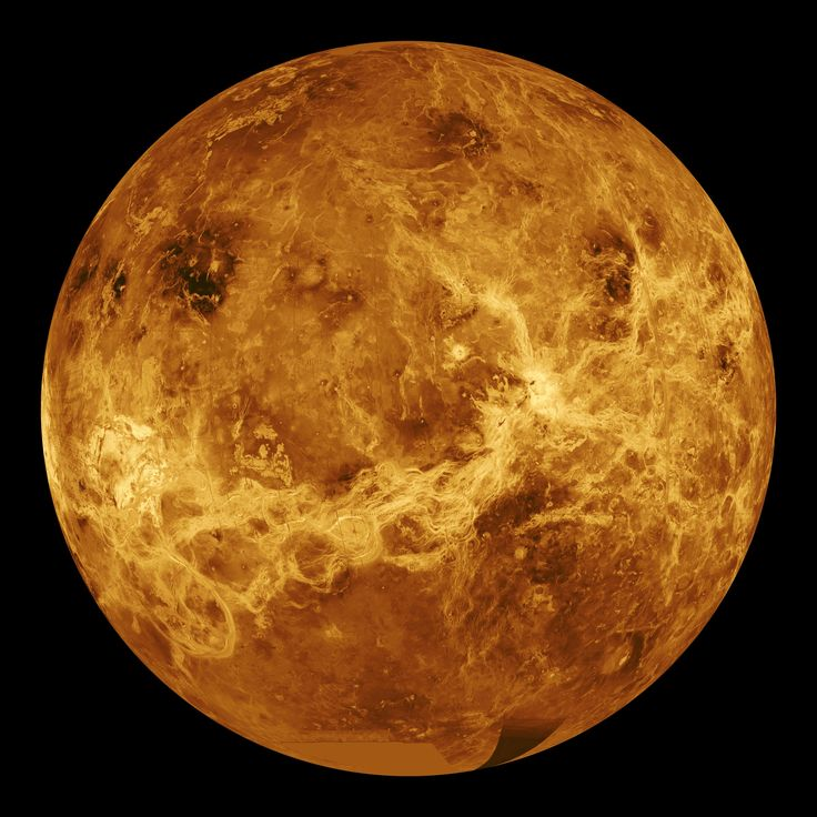 Venus is the most Earth-like planet in the solar system (it's similar in size, mass, and composition); however, it is terribly unEarth-like. Similar to Earth, Venus has an atmosphere that envelops the planet. However, this is a extremely dense atmosphere that is full of greenhouse gasses. In fact, the atmosphere is so thick that is causes the surface temperatures on the planet to exceed 870 °F (465 °C), which, by the way, is hot enough to melt lead.