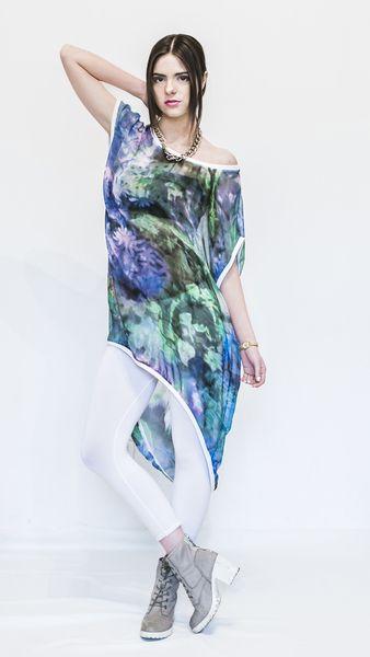 TUNIKA MGIEŁKA OVERSIZE  w Ekkony Oryginal Fashion Design na DaWanda.com