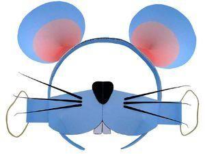 Сделать своими руками костюм мышки