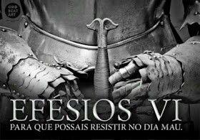 As armaduras de Deus.                                               D.