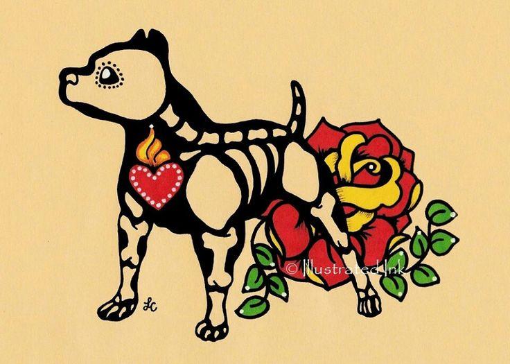 Pitbull <3 Great tattoo idea!