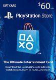 #9: $60 PlayStation Store Gift Card - PS4 / PS3 / PS Vita [Digital Code]