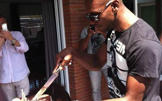 Eric Abidal - grill master