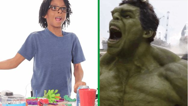The Hulk's roar in The Avengers had nothing on this kid's. | Watch These Adorable Kids Recreate Movie Sound Effects