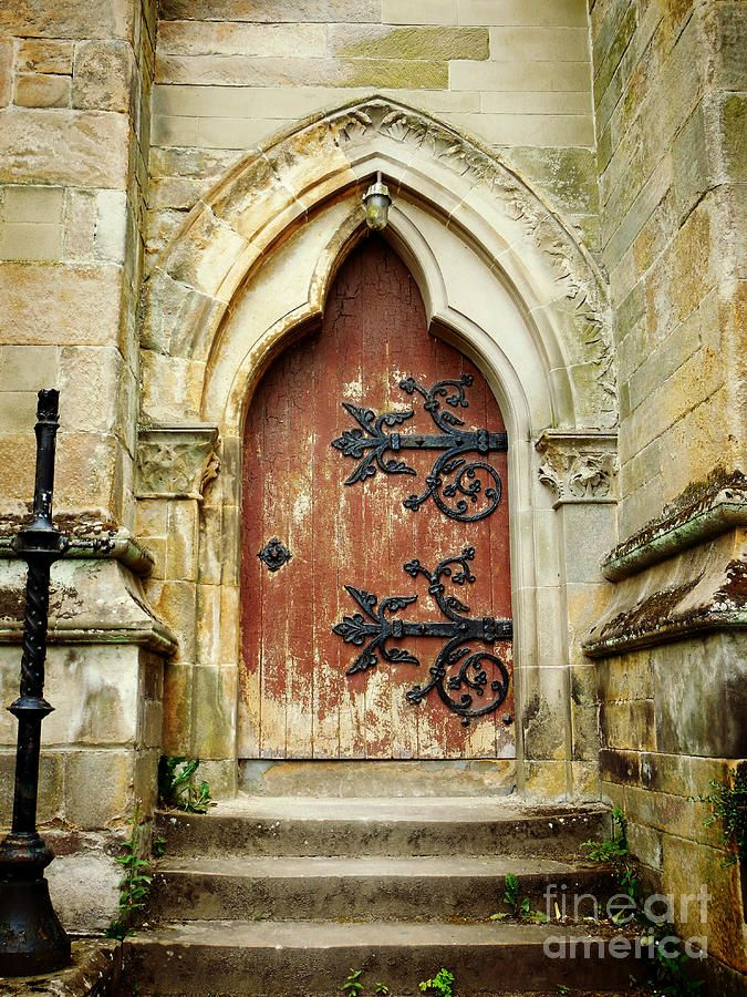 Distressed Door Photograph by Valerie Reeves