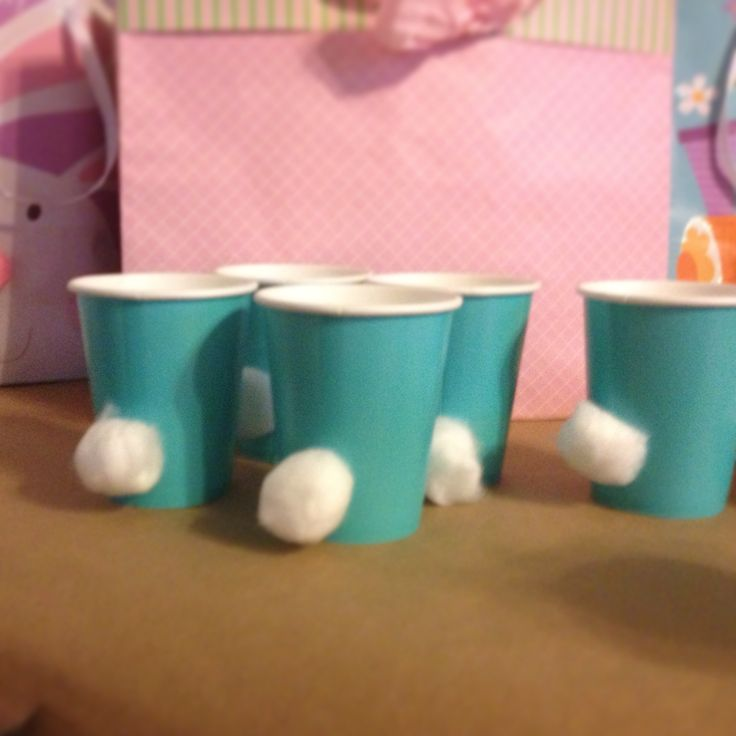 Bunny Birthday Cottontail Cups