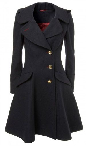 This reminds me of a feminine version of Jack Harkness's jacket.