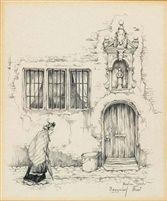 Begijnhof, Diest by Anton Pieck