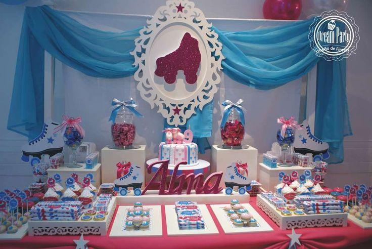 """ARTISTIC SKATE"" - 9 th - Birthday - Alma Birthday Party Ideas | Photo 4 of 10"