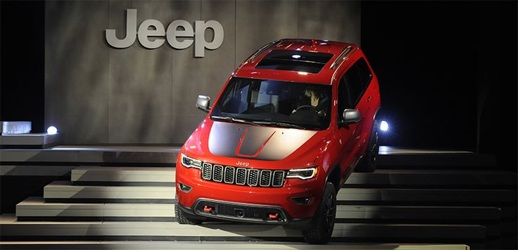 Some highly anticipated information on the 2017 #Jeep Grand Cherokee #Trailhawk!