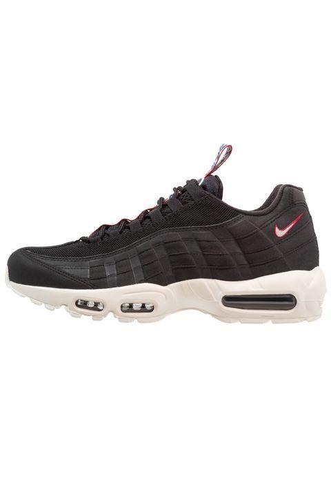 low priced 47aa7 83de3 1595 kr Nike Sportswear AIR MAX 95 - Joggesko - black sail gym red - Zalando .no   Wishlist   Pinterest   Air max 95, Air max og Nike