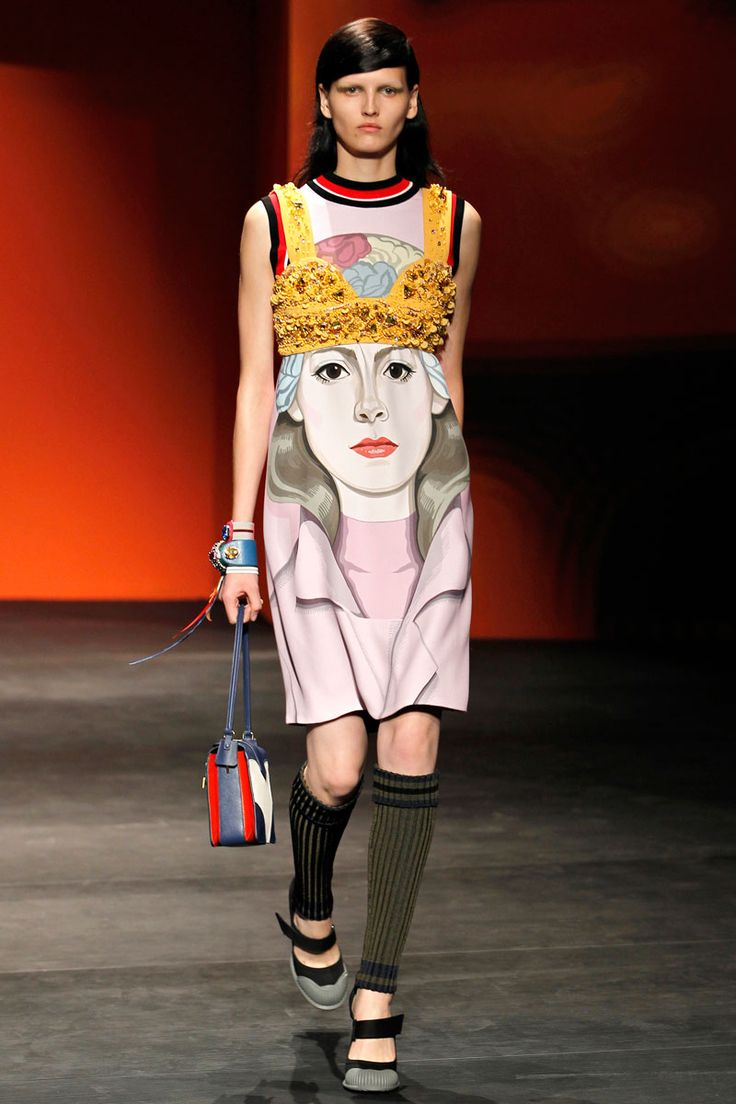 Prada's Spring Rainbow at Paris Fashion Week | 47designers