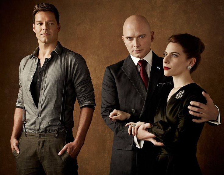 Myths of a Woman:Elena Roger, Ricky Martin, and Michael Cerveris in Evita