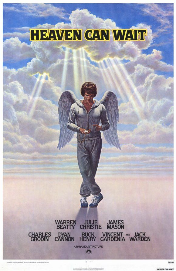 Warren Beatty both stars in and directs this film about an athlete who is taken from his body before his time and is given a second chance at life when his soul is placed into the body of a recently deceased millionaire. He tries to come to terms with his death, old friends and his new life and in the process falls in love. Just when he reconnects with his best buddy he is killed again, however...Well, you'll just have to see it to find out the ending. I love it.