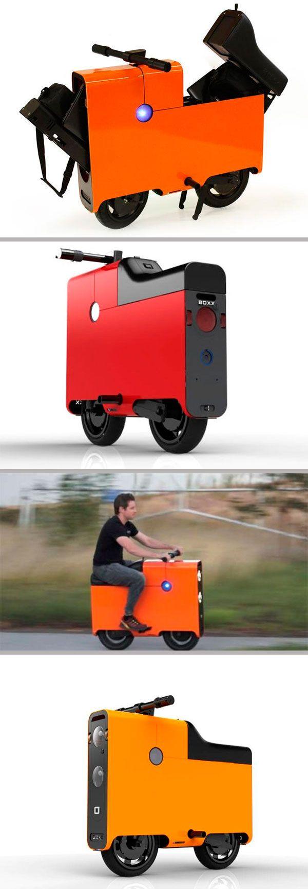 Оригинальный электрический скутер #Boxx дошел до массового производства