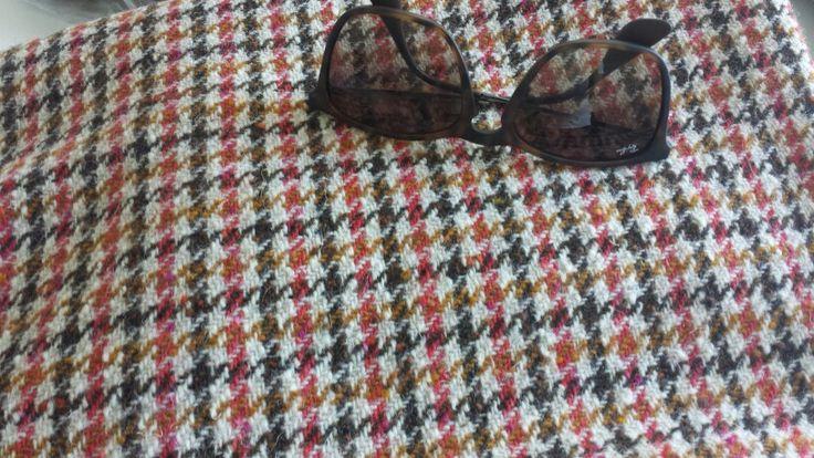 Donagol tweed blanket, from flea market