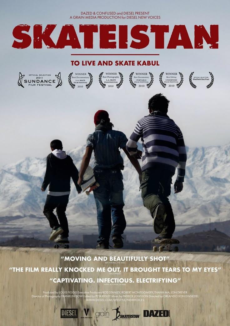 Skateistan movie poster