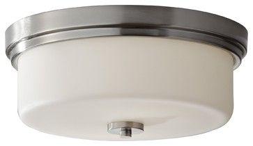 Murray Feiss MRF-FM370BS Kincaid Transitional Flush Mount Ceiling Light transitional-ceiling-lighting