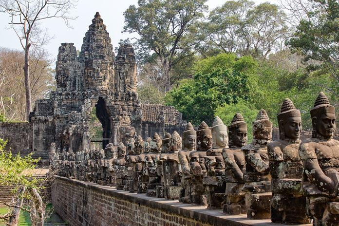 Angkor Wat Tapınağı, Kamboçya