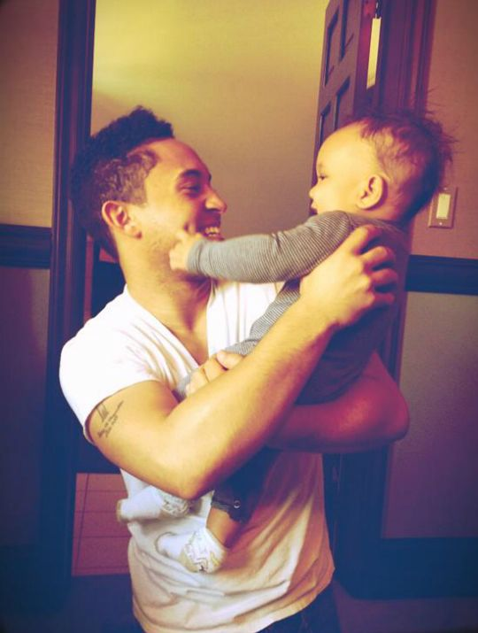 UNCLE & ME: TAHJ MOWRY SHARES SOME PHOTOS OF HIS NEPHEW