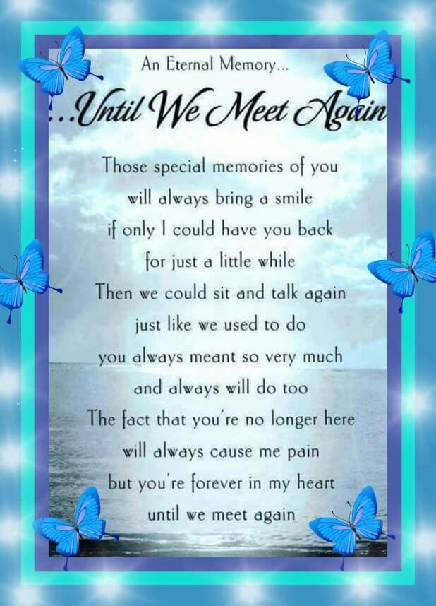 brinson until we meet again poem