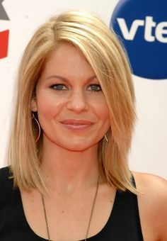 shoulder length layered straight hairstyles - Google Search