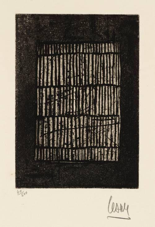 César (César Baldaccini) 'Untitled', 1958 © ADAGP, Paris and DACS, London 2014