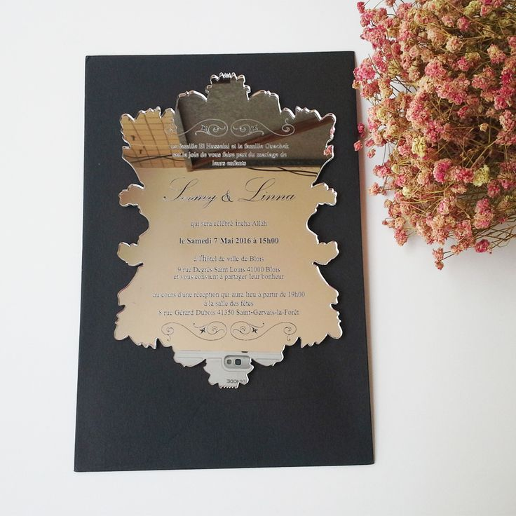 free online muslim wedding invitation cards%0A  Free Shipping  Buy Best Sample order for   inch vintage leaf shape
