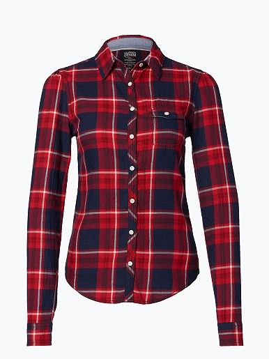 Damen Bluse - Forest Flannel Shirt Hilfiger Denim (ab 59,95 EURO)