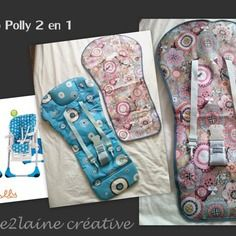 Patron et tuto pour housse chaise haute chicco polly 2 in 1 (+ babymoov & graco)