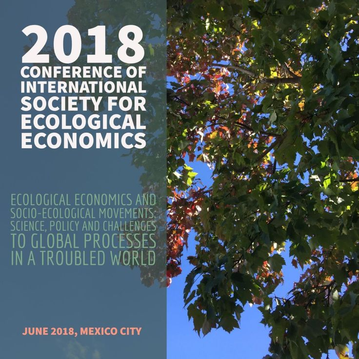 2018 Conference of the International Society for Ecological Economics
