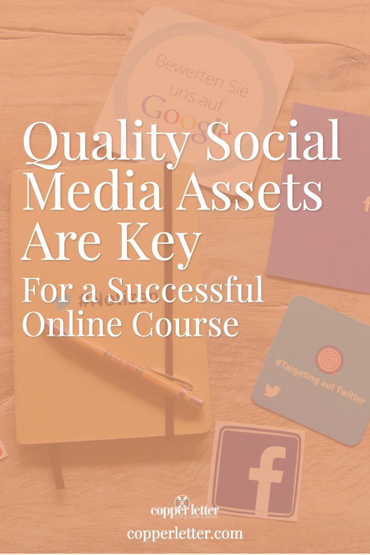 Quality social media assets are key to the first impression your course makes on new students. Get practical advice on creating your own social messaging.