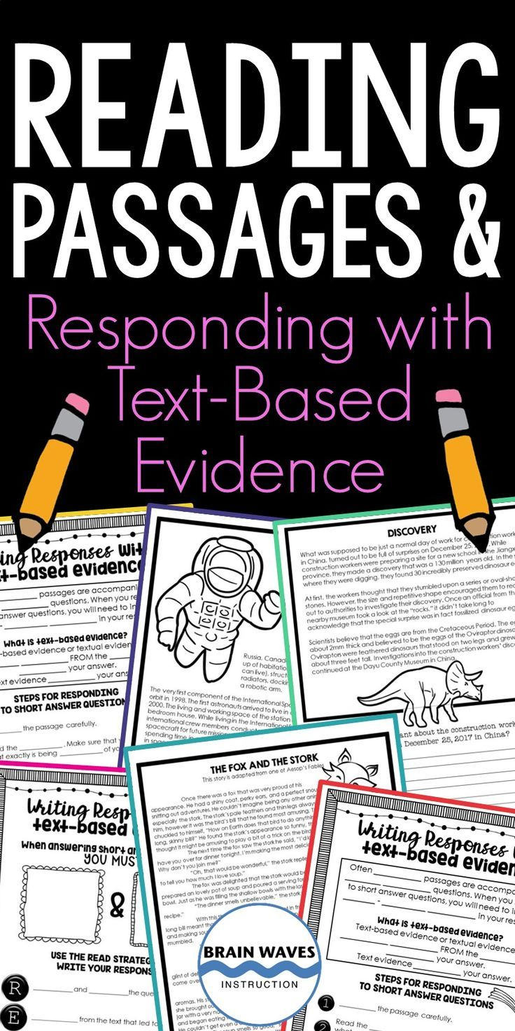 Reading Comprehension Passages Responding Text Evidence Paper And Digital Reading Passages Reading Comprehension Passages Writing Response [ 1472 x 736 Pixel ]