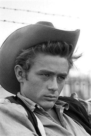 James Dean in Giant. Great movie and a hot man! :)
