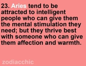 I'm married to a Libra. He's smart as a whip, but has introvert qualities that drive this Ambiverted (w/ more extrovert qualities) Aries crazy.
