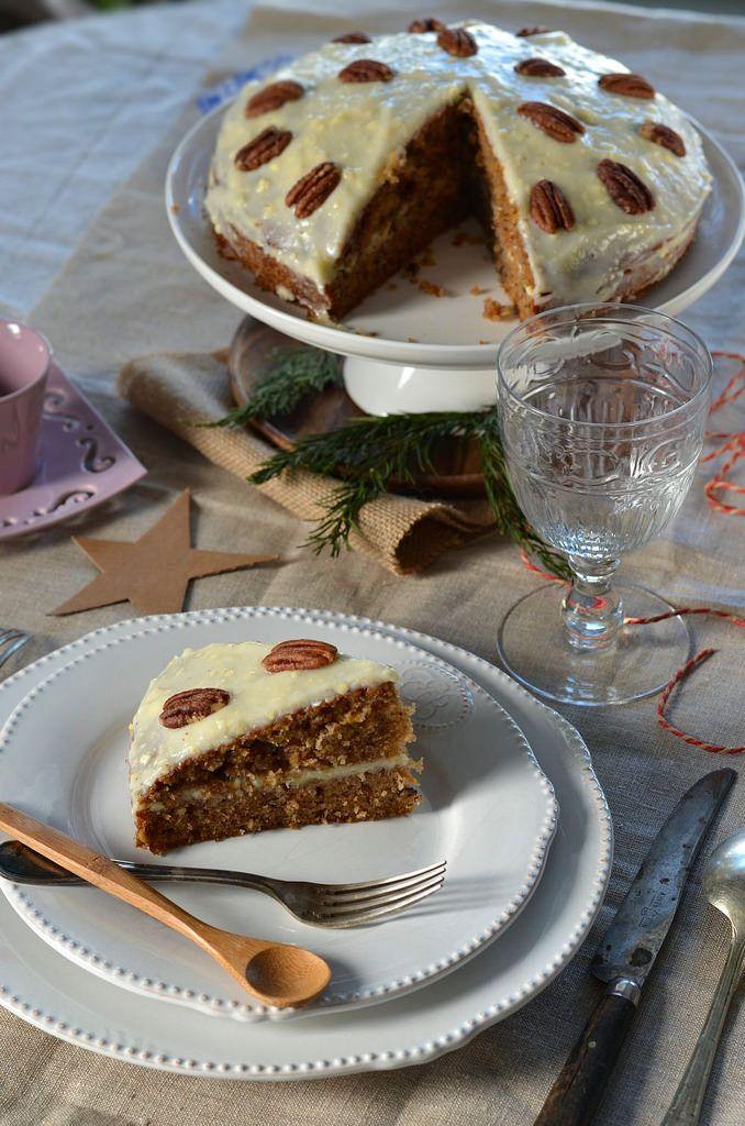 Carrot cake - Gâteau de carotte {recette étape par étape} -Tangerine Zest