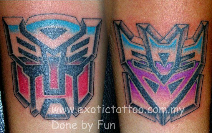 #Transformers #Tattoo @PitFunFun www.exotictatto.com.my