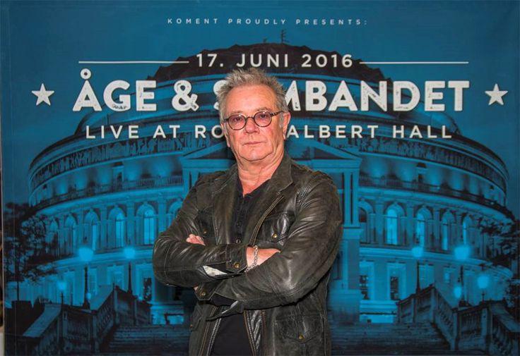 Åge Aleksandersen er klar for Royal Albert Hall, og bekjentgjorde det med pressekonferanse på Rockhe... - Leveres av NTB
