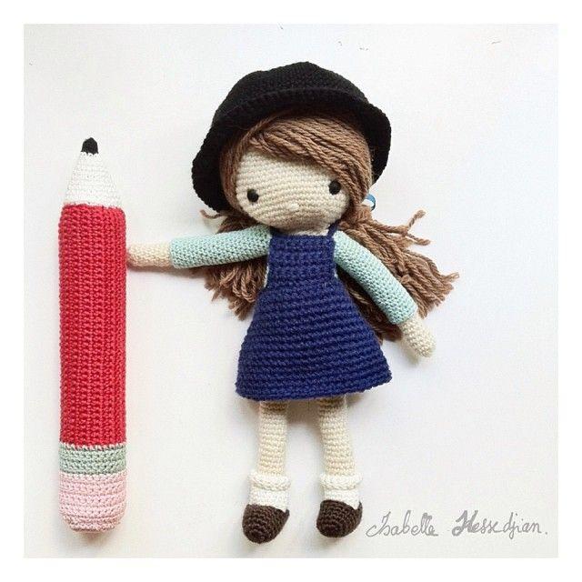 Mejores 137 imágenes de muñecos crochet en Pinterest | Juguetes de ...