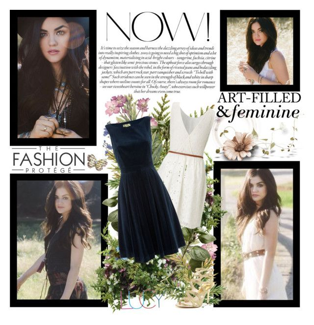 """Lucy Hale~The Road Between Album"" by fashion10496 ❤ liked on Polyvore featuring Lipsy, Monsoon, MICHAEL Michael Kors and Bastien"