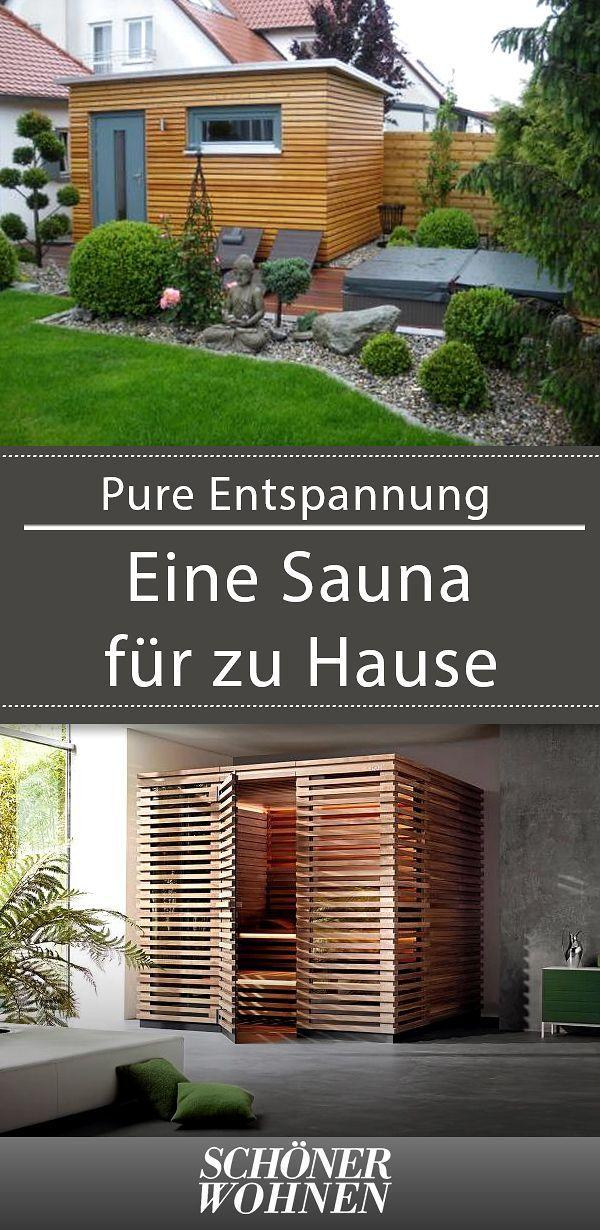 Sauna Fur Zu Hause Eine Heimsauna Einbauen Whirlpool Garten Infrarotkabine Sauna Fur Zuhause