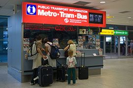 Public Transport - to/from Airport and trains