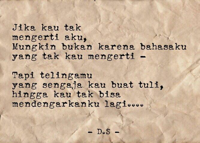 Puisi - Puisi Singkat - Kumpulan Puisi - Puisi Cinta #Indonesia